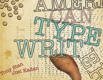 Poster promoting the typeface American Typewriter