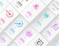 Chezare White. 7 Business card templates