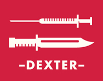 Dexter Typographic Posters