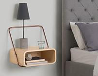 MADE - Portobello - Bedside Table