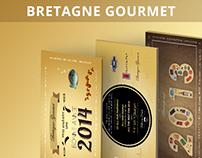 Bretagne Gourmet - Greeting card