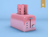 3D Experiments : Absurd & Colors