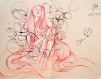 """Vibe"" sketchbook"