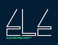 Electro Font - Free