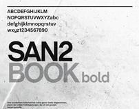 SAN2 BOOK bold Font