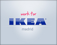 Work for IKEA Madrid / actualizando