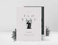 FLORENC Editorial Fashion Portfolio