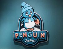 Penguin ice pop