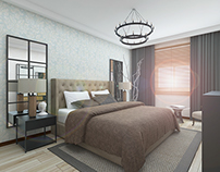 Flat Interior Design / Bedroom Design