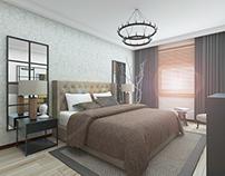 Flat Interior Design / Bedroom Design