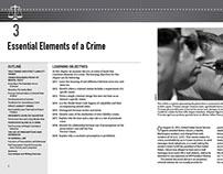 Criminal Law (book interior design)