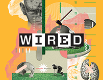 WIRED • Editorial illustrations