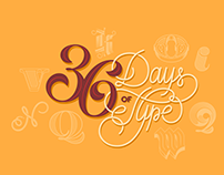 36 Days of Type | Sr. Wardak