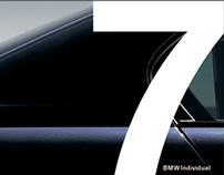 BMW 7 SERIES INDIVIDUAL PACKAGE BROCHURE