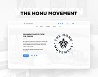 Дизайн сайта THE HONU MOVEMENT