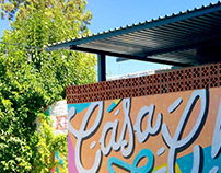 Wall Lettering · Casa Chica
