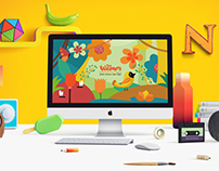 The Weavers preschool website design