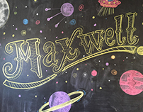 Maxwell's Chalkboard Wall