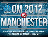 Match caritatif Olympique de Marseille / Manchester U