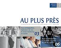"""Magazine """"Au plus près"""" (GHM)"""