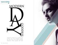 Modern Day Goddess | Layout Design