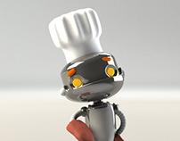 Little Cook Robot