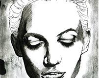 portrait - drawing