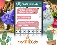 Social Media - Cidade Junina 2017
