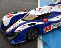 Toyota Hybrid — Le Mans
