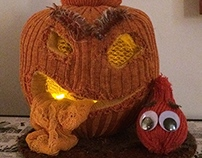 Knit Technology Final: Pumpkin