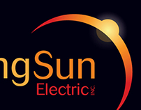Rising Sun Electric Logo & Identity