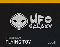 Styrofoam Flying Toy 2006