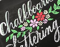 Chalkboards lettering
