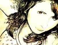 ilustracion retrato