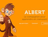 Kwixer - Albert le compagnon pour apprendre