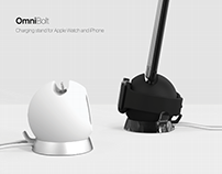 OmniBolt - Charging Stand for Apple Watch and iPhone