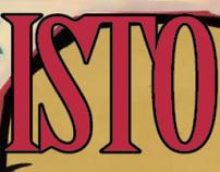 redesign da revista Istoé