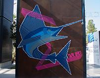 FLYING MARLIN // Dubai Canvas