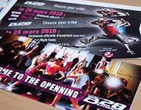 Carton d'invitation B28