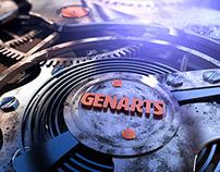 JVARTA   GENARTS.COM REBRAND