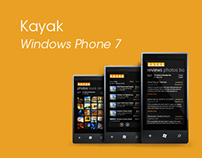 Kayak for Windows Phone 7-Redesign