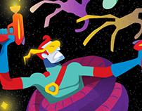 Space Man Zip