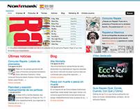 Normark Spain website