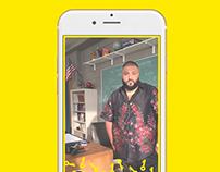 DJ Khaled x Get Schooled Event Snapchat Filter
