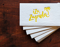 Business Card / Iza Zapiola