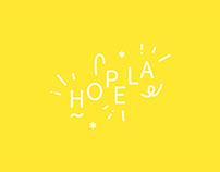 Logo - Branding - Hopela - collectif