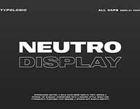 Free Neutro Display Font
