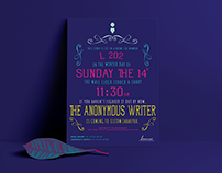 The Anonymous Writer — Poster