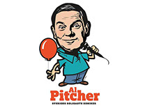 LOGO & CARTOON FÖR AL PITCHER