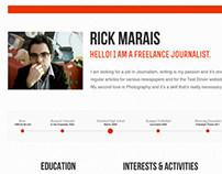 CV Design for Rick Marais